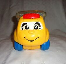 """Fisher-Price Rolling Pop-up Eyes Move Truck 7"""" Toddler Developmental  Toy"""
