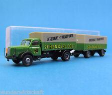 Brekina H0 7320 HENSCHEL HS 140 Hängerzug Schenker & Co. LKW OVP HO 1:87 Box