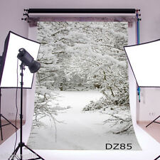 5X7FT Christmas Theme Vinyl Photography Backdrop Background Studio Prop DZ85