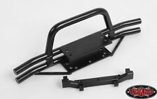 RC4WD Z-S1558 Rampage Front Double Tube Bumper with Hoop Trail Finder 2 SWB