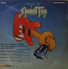 "THIS IS SPINAL TAP - ROB REINER - LASERDISC  12""   LD (O116)"
