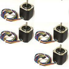 4pcs  NEMA17 BIPOLAR STEPPER MOTOR 76 oz-in for 3D Printer, from chicago