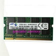 New Samsung 1GB DDR-333MHZ PC2700 Laptop Memory 200pin Low Density NON-ECC DDR1