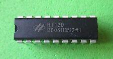 HT12D  12-Bit -Decoder für Fernbedienung  DIP 18  HOLTEK