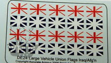 Accurate Armour 1:35 Vehicle Union Flags (Large) Iraq/Afghan DE24*