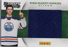 RYAN NUGENT-HOPKINS 2012 PANINI DRAFT EDITION JUMBO WORN JERSEY - ROOKIE