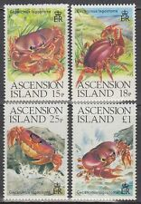Ascension 1989 ** Mi.488/91 Tiere Animals | Landkrabben Crabs [sq3470]