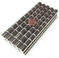 100 PCS N52 1/2 Inch Rare Earth Magnets Strong Cylinder Neodymium 13mm 18 Lbs