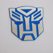 Blue 3D Logo Transformers Autobot Emblem Badge Decal Car decoration Stickers