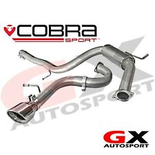 AU17 Cobra Sport Audi A3 8P TDI (5 Door) 2008-12 Cat Back Exhaust System