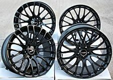 "18"" CRUIZE 170 ALLOY WHEELS MATT BLACK CONCAVE CROSS SPOKE 5X108 18 INCH ALLOYS"