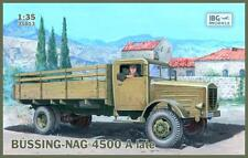 BUSSING-NAG 4500 A LATE  4x4 HEAVY LORRY (GERMAN WEHRMACHT MKGS) 1/35 IBG RARE!