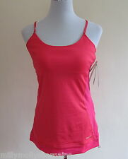 New Womens Reebok Pink Sports Vest Top Size X Large RRP £30