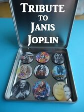 Janis Joplin Frig Magnets Awesome Collector Magnetic Tin Gift Tribute To Joplin
