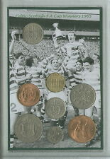 Glasgow Celtic Vintage escocés F.a final de Copa ganadores Retro moneda Set De Regalo De 1965