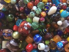 HUGE 2 POUND LOT!!! Glass beads! SALE!
