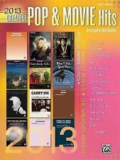 2013 Greatest Pop & Movie Hits: The Biggest Hits  The Greatest Artists (Easy Pia