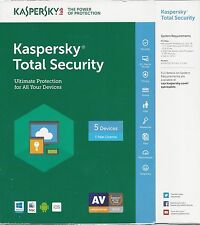 Kaspersky Total Security 2017 (Download), 5 Devices, 1 Year