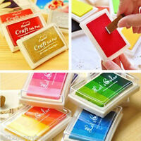 Creative Craft Ink Pad Inkpad Paper Wood Fabric 8 Colors Available Rubber Stamps