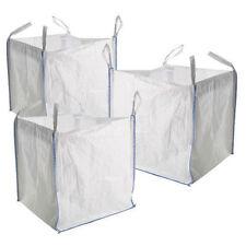 1 tonne FIBC builders bag and garden waste storage bag Storage Sacks x 5