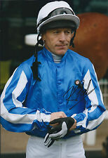 Kieren FALLON SIGNED Autograph Photo AFTAL COA Champion Jockey Derby Oaks Winner