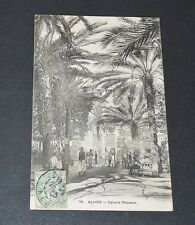 CPA CARTE POSTALE 1906 ALGERIE COLONIES FRANCE AFRIQUE ALGER SQUARE BRESSON