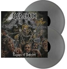 ICED EARTH - Plagues Of Babylon - 2 LP - Silver Vinyl - Neu - Limited Edition