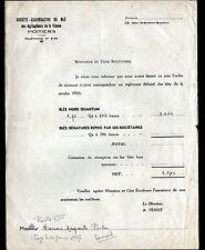 """POITIERS (86) Société COOPERATIVE de BLE AGRICULTEURS de la VIENNE """"A. PENOT"""""""