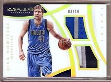 2014-15 IMMACULATE DIRK NOWITZKI 5 COLOR DUAL PATCH 03/10!!
