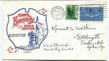 1967 Surveyor 5 Cape Kennedy Space Center United States USA NASA SPACE SIGNED