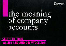 The Meaning Of Company Accounts,GOOD Book