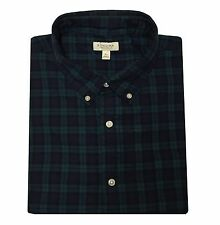 New Men's SONOMA Life + Style Plaid Casual Button-Down Collar Shirt MSRP $44
