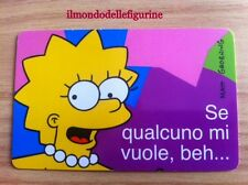 LISA SIMPSON CARD Fox 1999