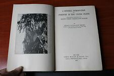 A General Introduction to Forestry in the United States 1935 HC - Brown policies