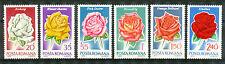 Roemenië 2868 - 2873 postfris  motief Bloemen / Rozen