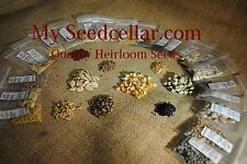 Heirloom Seed Pack! Heirloom seeds Survival seed bank emergency survivalheirloom