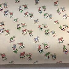 VINTAGE MID CENTURY MODERN DEPARTMENT STORE GIFT WRAP PAPER ROLL CIRCUS BIRTHDAY