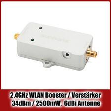 2.4 GHz WiFi Booster / WLAN Verstärker / Signalverstärker - 2500mW / 34dBm
