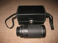Sigma Auto Focus Zoom APO 75-300mm 1:4-5.6 Lens and Case Pentax READ