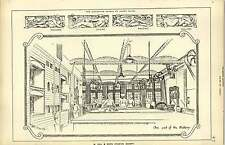 1887, W Hill And Sons Hygienic Bakery, At One End Sculpture Panels Harry Bates