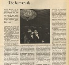 21/2/87PN16 ARTICLE THE SOUL CHAMELEON THAT IS CURTIS HAIRSTON