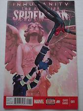 INHUMANITY : SUPERIOR SPIDER-MAN ISSUE # 1.  MARCH 2014.  MARVEL NOW
