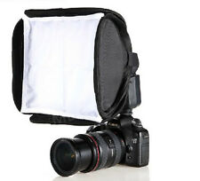 23 x23cm Soft Box Kit for Canon 430EX 580EX II Nikon SB600 SB800 Flash Speedlite