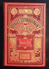 Jules VERNE. Kéraban le Tétu. Hetzel 1889. Cartonnage percaline aux 2 éléphants.