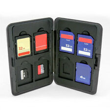 Multi Memory Card Case Speicherkarten Schutzbox für 8 SD Karten Aluminium
