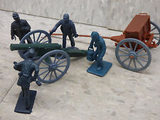 1/32 54mm Scale 6pc American Civil War US Union  Artillery / Soldiers Lot 191X