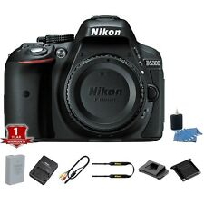 Nikon D5300 24.2MP DSLR Camera Body + Lens Cleaning Kit