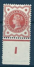 ½d Vermilion Jubilee control I perf single - MOUNTED MINT
