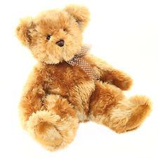 """Douglas Cuddle Toy 11"""" Cinnamon Teddy Bear Beige RARE Stuffed Animal 1276 NWT"""