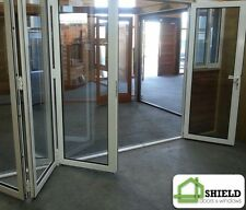 ALUMINIUM DOUBLE GLAZED BIFOLD DOOR | 2110H by 3610W